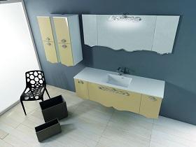 Шкафове за баня и мивки от камък